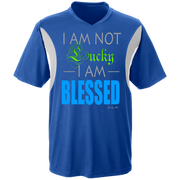 I AM NOT LUCKY, I AM BLESSED! Team 365 All Sport Jersey