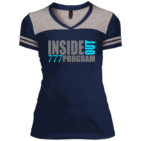 777 Program!  Juniors Varsity V-Neck Tee