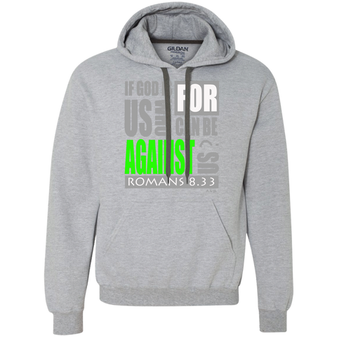 IF GOD IS FOR US!  Heavyweight Pullover Fleece Sweatshirt
