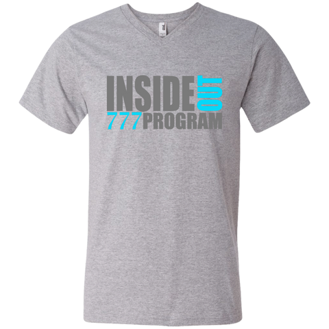 777 Program! Men's Printed V-Neck T