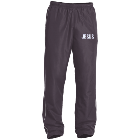 Jesus/Embroidered Performance Wind Pant