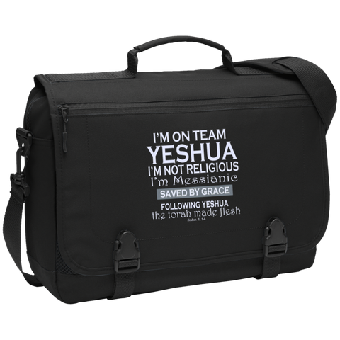 I'm on team Yeshua! Messenger Briefcase