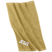 Jesus/Embroidered Rally Towel