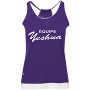ÉQUIPE YESHUA !Juniors' Vintage Heathered Tank
