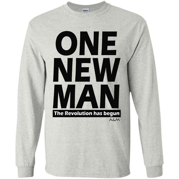 ONE NEW MAN!! LS Ultra Cotton Tshirt