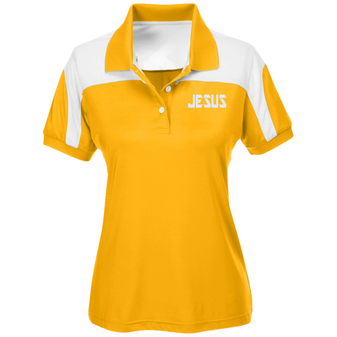 JESUS/Team 365 Ladies' Colorblock Polo
