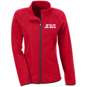 JESUS/Team 365 Ladies' Microfleece with Front Polyester Overlay