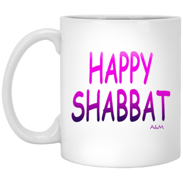 Happy Shabbat!  11 oz. Mug