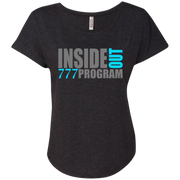 777 Program! Next Level Ladies Triblend Dolman Sleeve