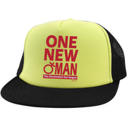ONE NEW WOMAN! Trucker Hat with Snapback