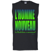 l'homme nouveau 2 Men's Cotton Sleeveless Tee