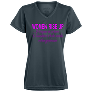Women rise up fr ps 68 verset! 1790 Augusta Ladies' Wicking T-Shirt