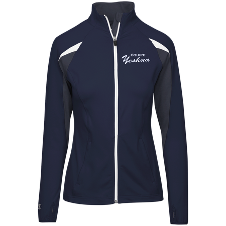 TEAM YESHUA !Ladies' Performance Warm-Up Jacket