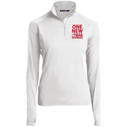 ONE NEW WOMAN! Women's Half Zip Performance Pullover