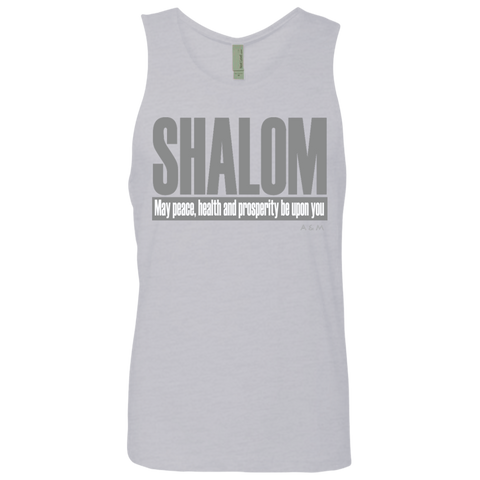 SHALOM ! NL3633 Next Level Men's Cotton Tank