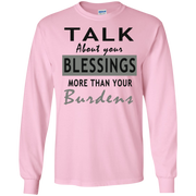 Talk about your blessing! LS Ultra Cotton Tshirt