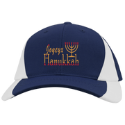 JOYEUX HANUKKAH! Mid-Profile Colorblock Hat