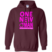 ONE NEW WOMAN!  Pullover Hoodie 8 oz