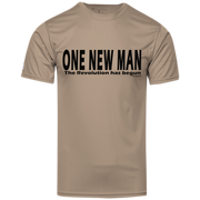 ONE NEW MAN HORIZONTAL!  Youth Holloway Polyester Tee
