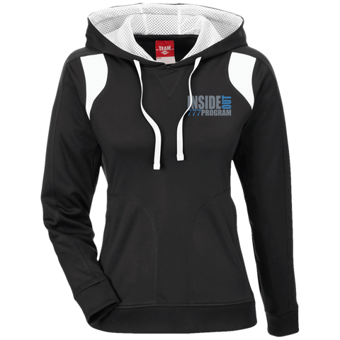 777 Program!  Team 365 Ladies' Colorblock Poly Hoodie