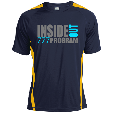 777 Program! Tall Colorblock Competitor Tshirt