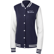 TEAM YESHUA !Women's Fleece Letterman Jacket
