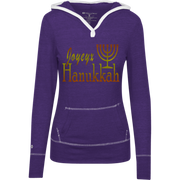 JOYEUX HANUKKAH! Junior Lightweight T-Shirt Hoodie