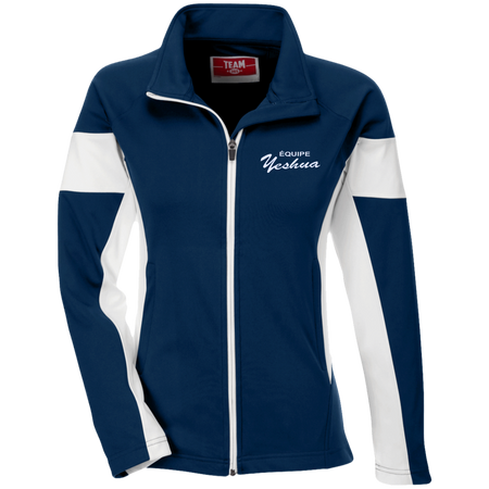 ÉQUIPE YESHUA ! Team 365 Ladies Performance Colorblock Full Zip