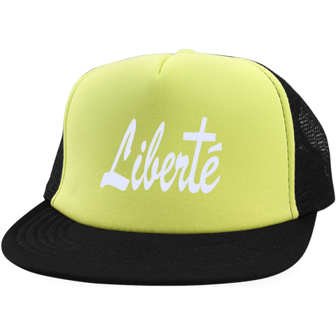Liberté!Trucker Hat with Snapback
