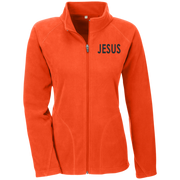 JESUS!  Team 365 Ladies Microfleece
