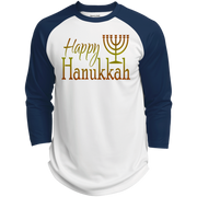 HAPPY HANUKKAH! Polyester Game Baseball Jersey