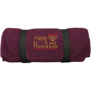HAPPY HANUKKAH! Design Your Own Fleece Blanket