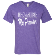 Jehovah jireh my provider! 982 Anvil Men's Printed V-Neck T-Shirt