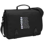 SUCCESS, (Josh 1.8) Messenger Briefcase
