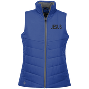 JESUS! Ladies Quilted Vest