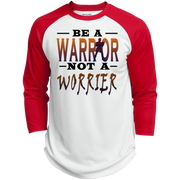 BE A WARRIOR! Polyester Game Baseball Jersey