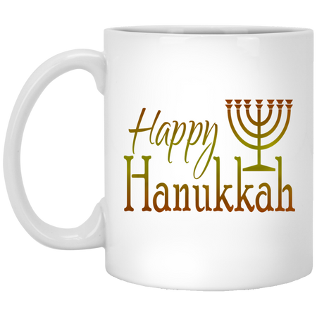 HAPPY HANUKKAH! 11 oz. Mug