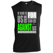 IF GOD IS FOR US! Sleeveless Performance T Shirt