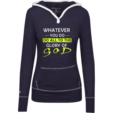 Whatever you do!  Junior Lightweight T-Shirt Hoodie