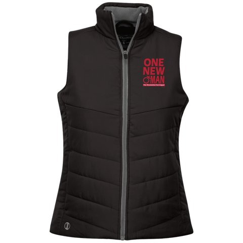 ONE NEW WOMAN! Ladies Quilted Vest