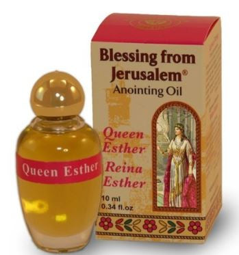 Anointing Oil with Biblical Spices from Jerusalem 0.34oz (10ml) (Queen Esther)