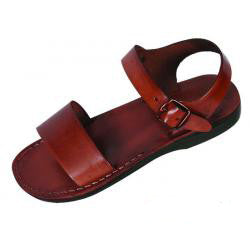 BIBLICAL SANDALS GENUINE LEATHER MADE IN ISRAEL THE JUDEA SANDAL