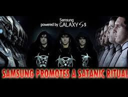 END OF TIME: SAMSUNG PROMOTES A SATANIC RITUAL