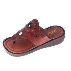 BIBLICAL WOMEN SANDALS GENUINE LEATHER MADE IN ISRAEL PLATFORM SANDAL