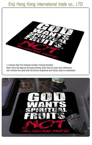 Hot christian Background gaming mouse pad