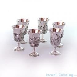 Set of 6  Kiddush cups
