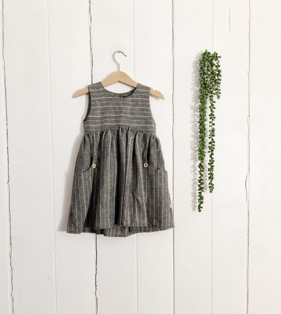 Linen Dress, Hemp/Cotton