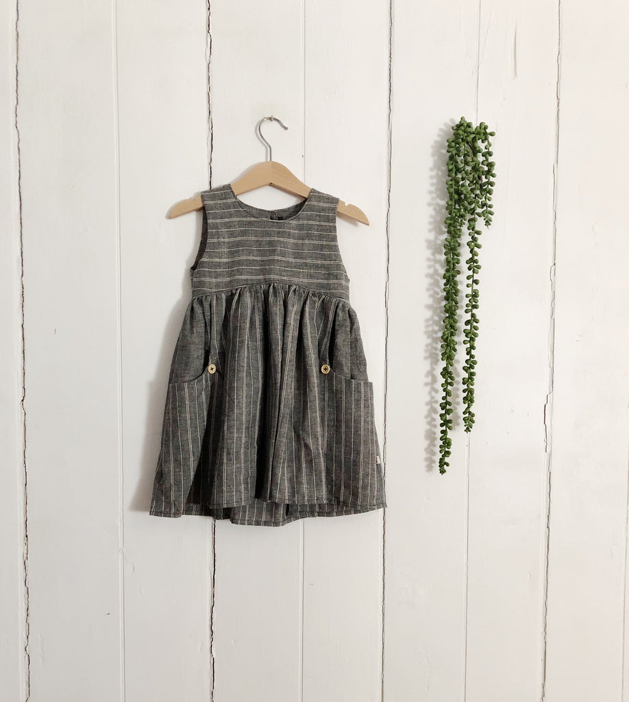 Linen Dress, Hemp/Cotton (Baby)