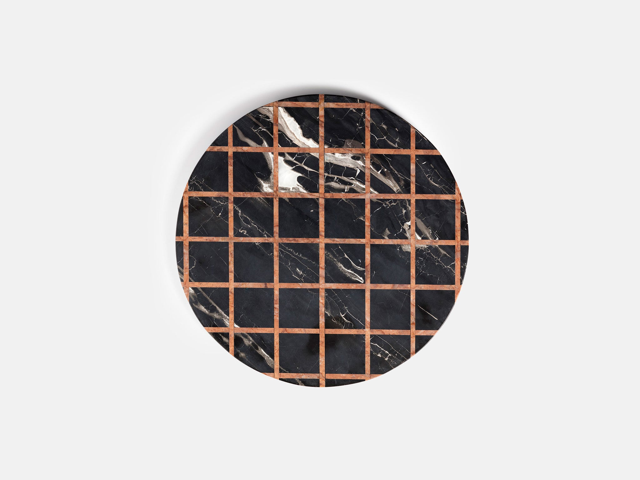 Other Kingdom - Grid Platter - Marble Inlay Serving Platter