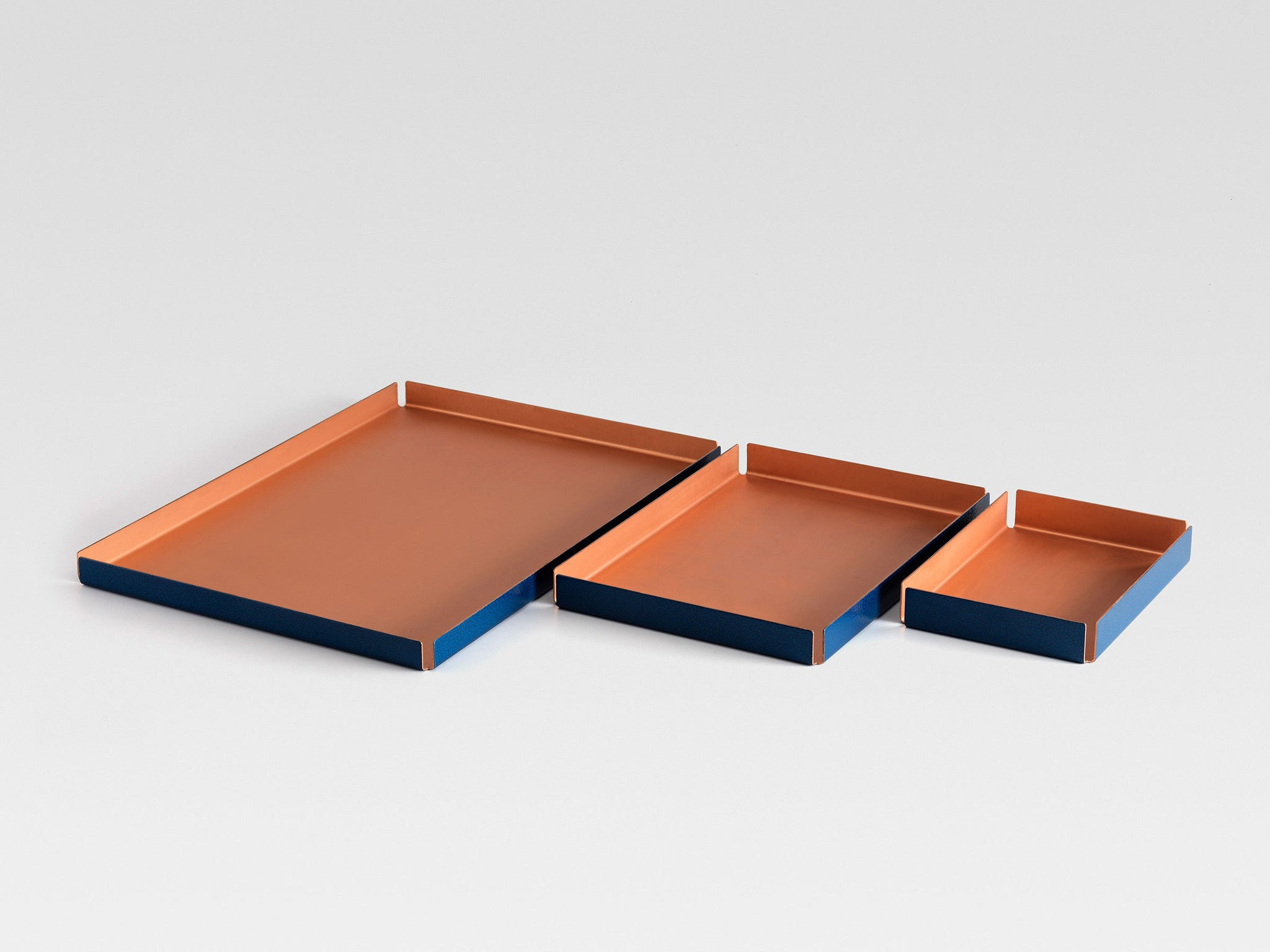 Other Kingdom - Large Hammertone Tray - Copper Serving Tray